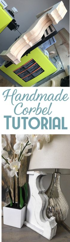 How To build a DIY handmade corbel - Turorial - Woodworking