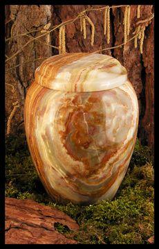 Onyxmarmor Urne, onyx marbel urn, cremation urn, funeral urn