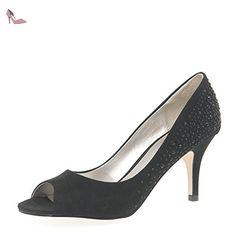 Lotus link bout, escarpins femme - Noir - Noir, 7 EU - Chaussures lotus (*Partner-Link)