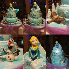 frozen cake by Fabi sweets cakes...