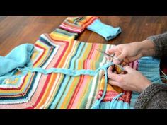Do you ever wish that pullover was a cardigan? Check out this video with Susan B Anderson as she steeks a pullover with reinforced crochet to create a cardigan. Love it!