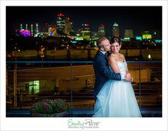 Emily + Pete: Wedding Photographers Spirit. Spontaneity. Harmony. www.emily-pete.com Lawrence. Kansas City. Beyond.  Fall Kansas City Wedding Boulevard Brewing Company Kansas City Skyline Kansas City Skyline Night