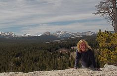 Tuolumne Meadows from Puppy Dome, Yosemite, May 2012