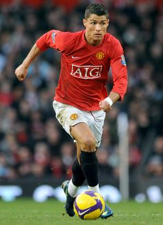Cristiano Ronaldo playing for Manchester United Manchester United Ronaldo, Cristiano Ronaldo Manchester, Cristiano Ronaldo Junior, Cristino Ronaldo, Cristiano Ronaldo Cr7, Portugal National Football Team, Classic Football Shirts, Football Images, Fc Chelsea
