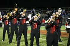 10+ Values Marching Band Students learn