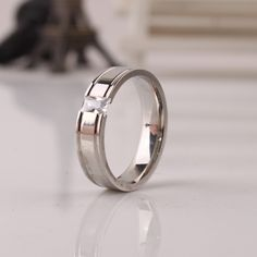Find More Rings Information about Zircon CZ 6mm light rings 316L Stainless Steel sliver open finger ring men jewelry Free shipping wholesale,High Quality ring jewelry holder,China jewelry ring organizer Suppliers, Cheap jewelry print from Chinese Jewelry Factory,Wholesale From Yiwu China on Aliexpress.com