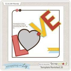 Scrapbooking TammyTags -- TT - Designer - Scrapping with Liz, TT - Item - Template