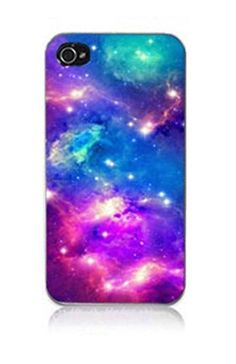 K9Q Nebula Galaxy Space Universe Retro Snap On Hard Case Cover Back Skin Protector For Apple iPhone 4 4S i4 Style F