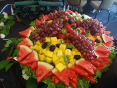 not just any fruit platter!