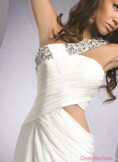 prom dress prom dresses long white