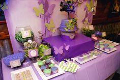 chevron butterfly baby shower by JadeBerth Creative
