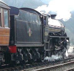 61264   by mikep1650 Heritage Railway, Standard Gauge, Rail Transport, Steam Railway, Old Trains, British Rail, Steam Engine, Steam Locomotive, Train Travel