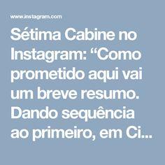 """Sétima Cabine no Instagram: """"Como prometido aqui vai um breve resumo. Dando sequência ao primeiro, em Cinquenta Tons Mais Escuros podemos ver muitas reviravoltas antes…"""""""