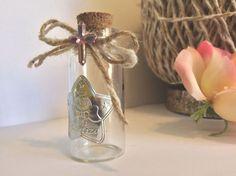 "12 2 25"" Cork Glass Pink Decorate Holy Bottles Baptism Communion Wedding Favors   eBay"