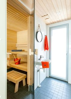 Kultaranta Marina_lofthouse_Sauna_bathroom