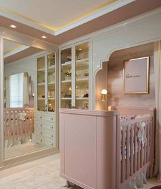 Top 5 Luxury Baby Cribs of 2019 Luxury Baby Crib with mosquito net by […] Luxury Nursery, Nursery Modern, Baby Bedroom, Baby Room Decor, Kids Bedroom, Luxurious Bedrooms, Baby Cribs, Girl Room, Decoration