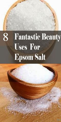 Many of us use Epsom salt is a good source of magnesium and can be a very effective ingredients in your beauty treatments. Epsom salt gently exfoliates skin and smooths rough patches. A relaxing soak Epsom Salt For Hair, Epsom Salt Uses, Salt Hair, Beauty Care, Diy Beauty, Beauty Hacks, Epsom Salt Cleanse, Beauty Secrets, Beauty Tips