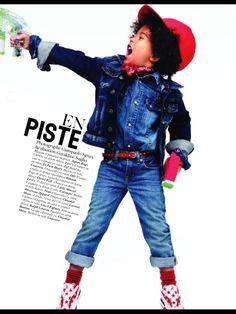 Fofíssimos! Editorial da Vogue Enfants/Abril 2011. Adoro!   *Eles são fofos, né?