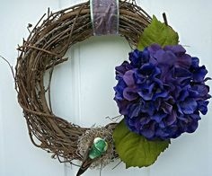 Hey, I found this really awesome Etsy listing at https://www.etsy.com/listing/286641023/hydrangea-wreath-spring-wreath-floral