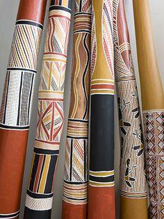 didgeridooooooooooos! love the patterns