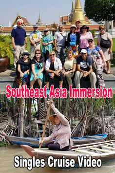 Southeast Asia Immersion Singles Cruise Memory Video  - Hong Kong - Vietnam - Thailand - Singapore