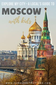 An insider's guide to exploring around Moscow with your kids. The best city highlights to visit as a family in Moscow, Russia | Russia Vacation with Kids | Explore My City Insider travel guides from local parents Travel Advice, Travel Guides, Moscow Russia, Best Cities, Family Travel, Exploring, Taj Mahal, Highlights, Parents