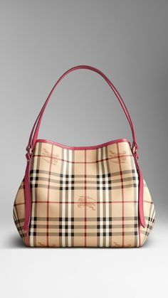 The Small Canter in Haymarket Check   Burberry