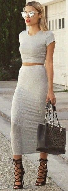 Beige Two Piece Set                                                                             Source
