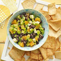 Black Bean and Avocado Dip - FamilyCircle.com