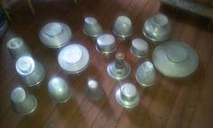 14 Aluminium  Hutformen Konvolut Hutständer Formen von HatSolution