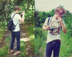 Forest trip, roll is not finished More photos here -> http://lookbook.nu/user/2151530-Patryk-D/looks  ENJOY :D