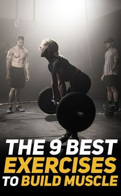 Check out The 9 Best Exercises to Build Muscle! #fitness #gym #exercise #exercises #workout