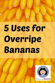 Five Uses for Overripe Bananas - Mum's the Boss What do you do with bananas when the children turn their noses up at them? Here are some great ideas for the squishy ones Healthy Smoothies For Kids, Fruit Smoothies, Smoothie Recipes, Healthy Snacks, Healthy Recipes, Kid Snacks, Ripe Banana Recipe, Banana Recipes, Ww Recipes