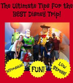 Click here for tips and tricks to make the MOST of your Disney World vacation!