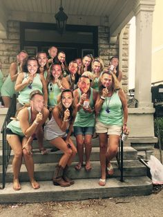 Best bachelorette party idea! Fiancé's face on Popsicle sticks for the whole crew! Nashville bachelorette party