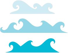Silhouette Online Store - View Design #19023: wave borders