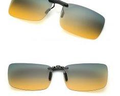 Tieňovaný polarizovaný clip na okuliare na nočnú jazdu i šport0 Ray Bans, Sunglasses, Style, Swag, Sunnies, Shades, Outfits, Eyeglasses, Glasses