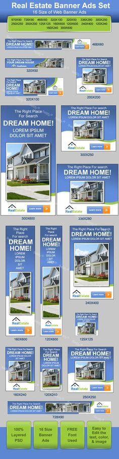 50 Best Real Estate Banner Ads Images Real Estate Real Estate Banner Banner Ads