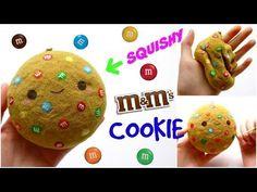 DIY M&M COOKIE SQUISHY ~ Homemade Squishy Tutorial - YouTube