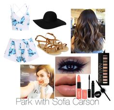 """""""Park with Sofia Carson"""" by boca-grande ❤ liked on Polyvore"""