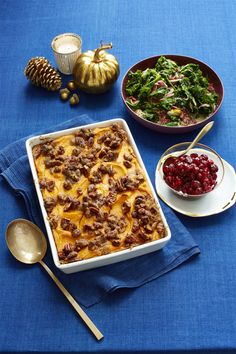 Side Dish: Sweet Potato Casserole with Brown-Sugared Pecans
