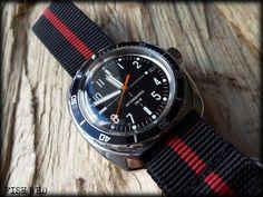 Amphibia 710SE Vostok Watch, Watch Bands, Clocks, Omega Watch, Mens Fashion, Watches, Accessories, Nice Watches, Bracelet Watch