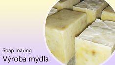 Výroba domácího mýdla vč. receptu #10 Olivový mýdlový šampon s heřmánkem Soap Making, Blog, Blogging