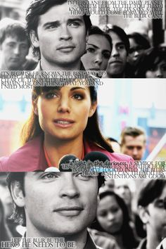 Clark and Lois from Smallville