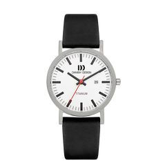 Rhine White Black Date Large Titanium Watches, Black Dating, Led Watch, Classic Man, Danish Design, Contemporary Design, Watches For Men, Trends, Jewel