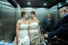 Bruiden in de lift bob-photos.com