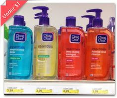 Clean & Clear Cleanser, Only $0.99 at Target!