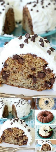 This Chocolate Chip Banana Cake from Butter with a Side of Bread is our new favorite way to use ripe bananas! It has an amazing flavor and you really can't go wrong with chocolate and bananas baked into a cake.