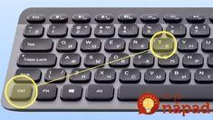 Toto si určite uložte, bude sa vám to hodiť! Brain Facts, Pc Mouse, Computer Keyboard, Calculator, Microsoft, Fun Facts, Internet, Windows, Interesting Facts