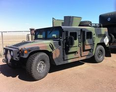 EOD HMMWV up armored